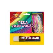 Tiza para colorear el pelo Blanca