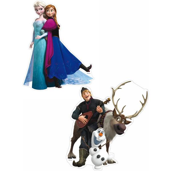 Set de mini figurines personnages la reine des neiges - La reine des neiges personnage ...
