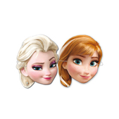 Set de caretas Elsa y Anna Frozen