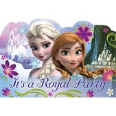 Set of Frozen party invitations