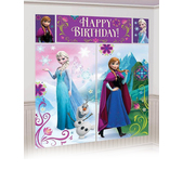 Póster Happy Birthday Frozen