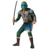 Costume de Leonardo musclé Tortues Ninja Movie pour enfant