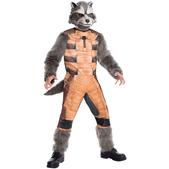 Disfraz de Rocket Raccoon deluxe para hombre