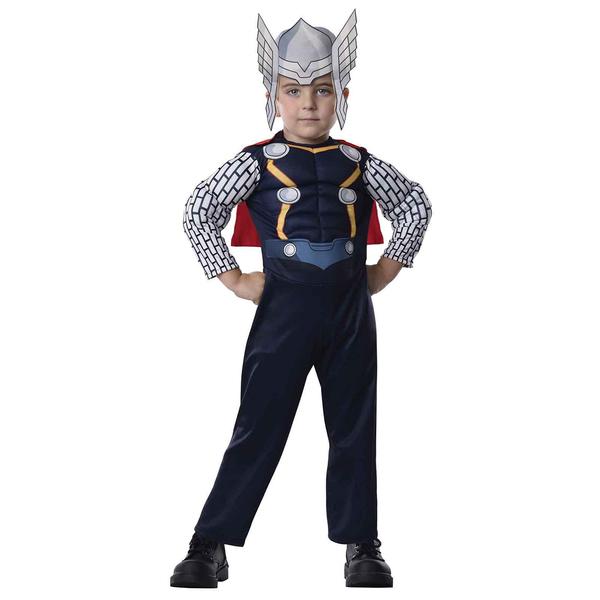 costume thor avengers rassemblement pour b b acheter en ligne chez funidelia. Black Bedroom Furniture Sets. Home Design Ideas