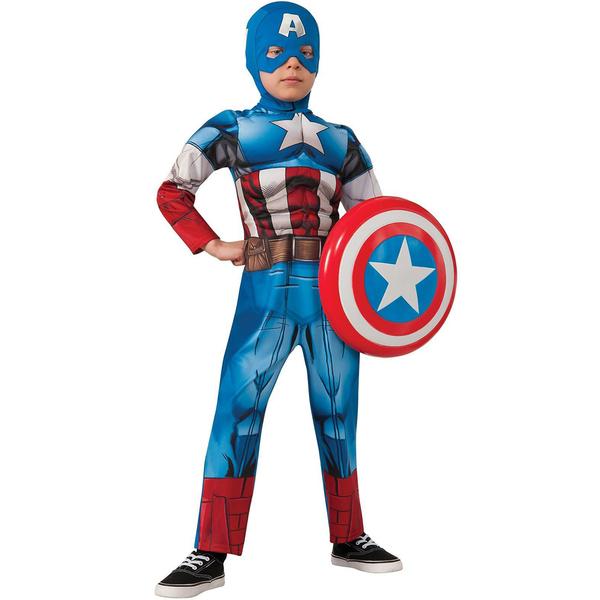costume captain america rassemblement luxe pour enfant