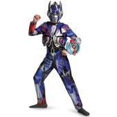 Disfraz de Optimus Prime Transformers 4 La Era de la Extinción deluxe para niño