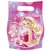Set de bolsas para chuches o juguetes Barbie Pink Shoes - Pack de 10