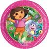 Set de platos de postre Dora la Exploradora - Pack de 25
