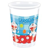 Set de vasos Doraemon - Pack de 24