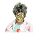 Máscara de zombie verde