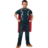 Kit disfraz Thor musculoso para niño