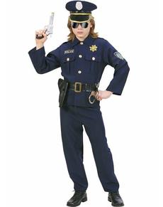 Disfraz de oficial de policía para niño