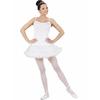 Disfraz de bailarina de ballet blanco
