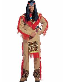Disfraz de indio Leopardo Furioso para hombre
