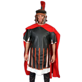 Peto de caballero romano para hombre