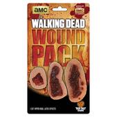 Set de prótesis de heridas infectadas The Walking Dead de látex