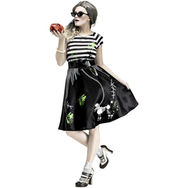 Disfraz mujer zombie a la moda para mujer