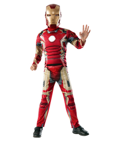 Disfraz de Iron Man Los Vengadores 2 La Era de Ultrón musculoso para niño