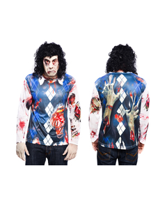 Camiseta de zombie boy para hombre