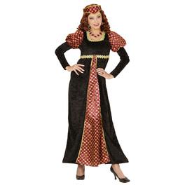 Disfraz de cortesana elegante para mujer