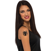 Tatuaje Spidergirl Marvel para niña