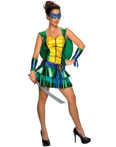 Disfraz de Leonardo Las Tortugas Ninja sexy para mujer
