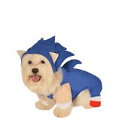 Disfraz de Sonic para perro