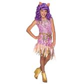 Disfraz de Clawdeen Wolf Monster High para niña