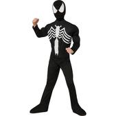 Disfraz de Spiderman black Ultimate Spiderman deluxe para niño