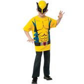 Kit disfraz de Lobezno Marvel para niño