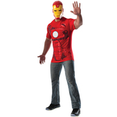 Kit disfraz de Iron Man Marvel para adulto