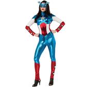 Disfraz de Capitán América Marvel para mujer