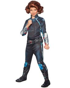 Disfraz de Viuda Negra Vengadores: La Era de Ultrón deluxe para niña