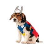 Disfraz de Thor para perro