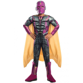 Disfraz de Visión Los Vengadores musculoso para niño