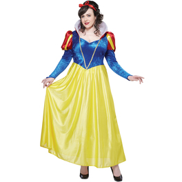 Disfraz de Blancanieves para mujer talla grande