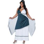 Disfraz de romana para mujer talla grande