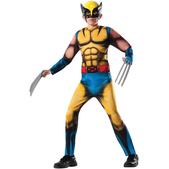 Disfraz de Lobezno Marvel deluxe para niño