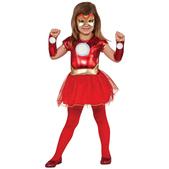Disfraz de Rescue Marvel para niña