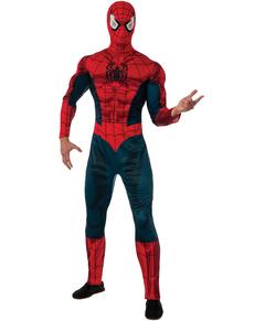 Disfraz de Spiderman Marvel deluxe para adulto
