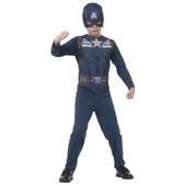 Disfraz de Capitán América Soldado de Invierno para niño en blister