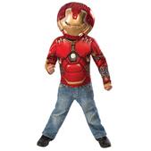 Kit disfraz Hulkbuster musculoso para niño