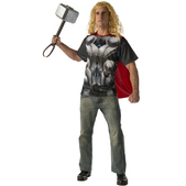 Kit disfraz Thor Vengadores: La Era de Ultrón para adulto