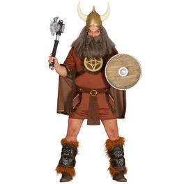 Disfraz de vikingo valiente para hombre
