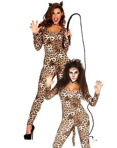 Disfraz de tigresa oriental para mujer