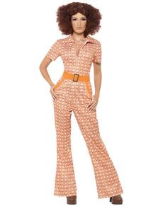 Disfraz chica de los 70 para mujer
