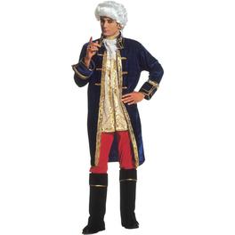 Disfraz de Casanova seductor para hombre talla grande