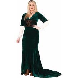 Disfraz de mujer del renacimiento talla grande