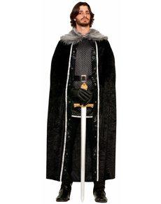 Capa de Jon guardián de la noche para hombre