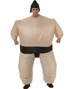 Disfraz hinchable de sumo para hombre